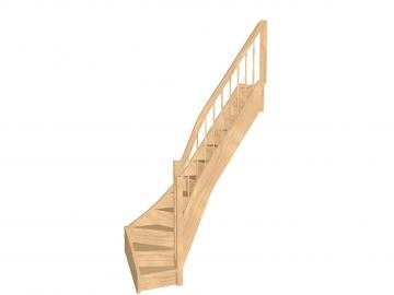 Spartreppe 1/4