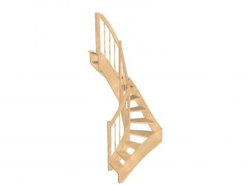 Spartreppe 1/2